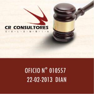 OFICIO N° 010557