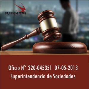 Oficio N°220-045351