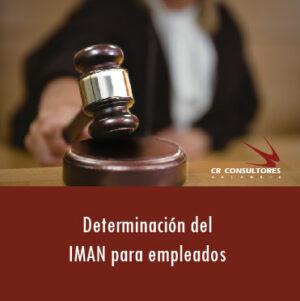 Determinación del IMAN para empleados