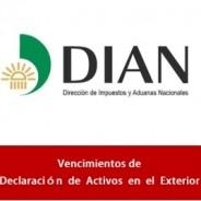 Vencimientos de la Declaración  de  Activos  en  el  Exterior