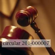 circular 201-000007