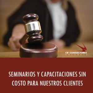 SEMINARIOS Y CAPACITACIONES SIN COSTO PARA NUESTROS CLIENTES