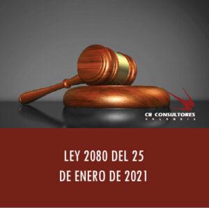 LEY 2080 DEL 25 DE ENERO DE 2021