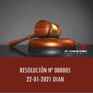 Resolución 000005 – REGISTRO ÚNICO NACIONAL DE ENTIDADES OPERADORES DE LIBRANZA (RUNEOL) Y DE DESCUENTO DIRECTO.