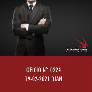 DIAN oficio 0224 – Impuesto sobre las ventas.