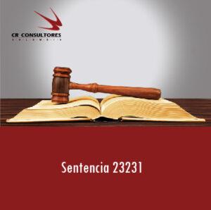 Sentencia 23231– DESCONOCIMIENTO DE RETENCIONES.